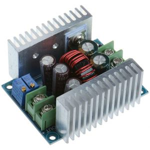 Constant Current CC CV Buck Converter Module DC 6-40V to 1.2-36V 20A 300W Adjustable Step Down Voltage Regulator Power Supply Module with Short Circuit Protection Function