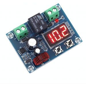 Digital Low Voltage Protector Disconnect Switch Over Discharge Protection Module for 12-36V Lead Acid Lithium Battery